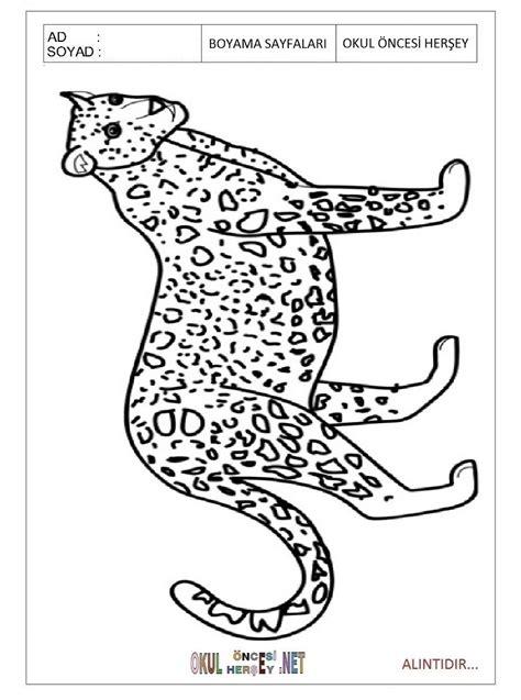 jaguar coloring page for preschool free printable jaguar coloring pages for kid preschool