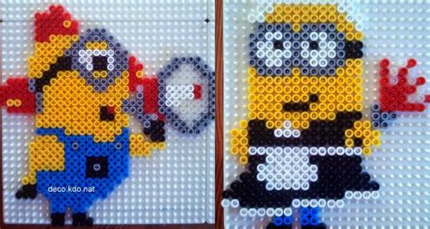 perler images minion perler bead patterns u create