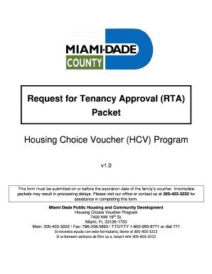 request for tenancy approval form section 8 request for tenancy approval rta form fill online