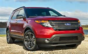 Ford Sports 2013 Ford Explorer Sport Boasts New Look Ecoboost V 6