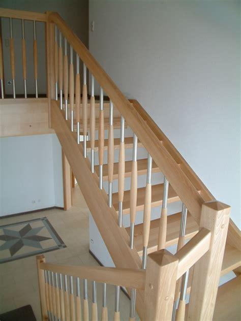 Treppengeländer Holz Edelstahl Innen by Treppengel 228 Nder Innen Holz Edelstahl Bvrao