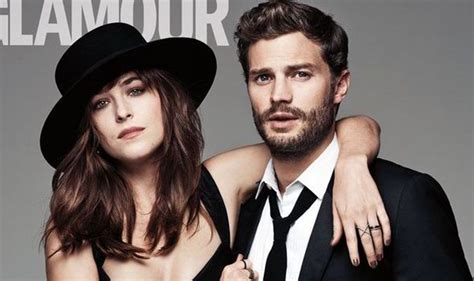 fifty shades of grey actors together fifty shades jamie dornan and dakota johnson in steamy