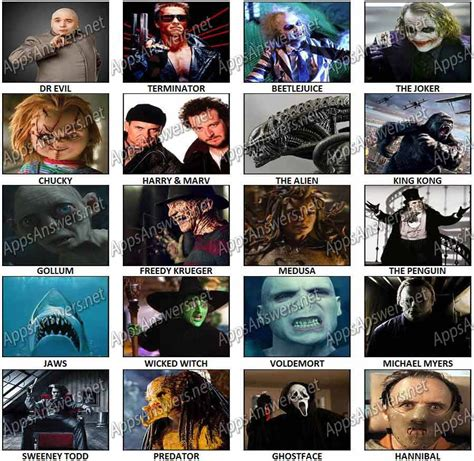 film villains quiz 100 pics logos movie villains 12 000 vector logos