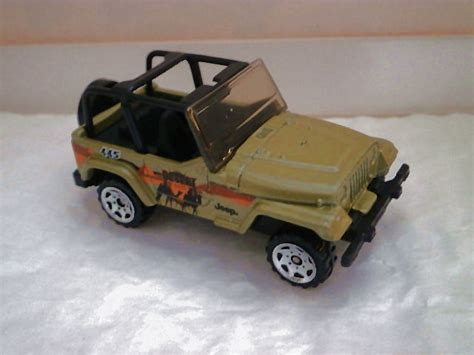 jeep wrangler matchbox matchbox 1998 jeep wrangler cer models picture