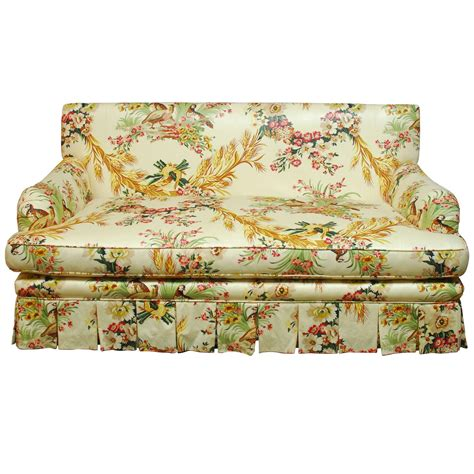 toile couch toile sofa french brunschwig and fils pheasant toile sofa