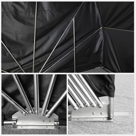Folding Shed by Motorcycle Bike Tent Shed Outdoor Cover Folding Garage
