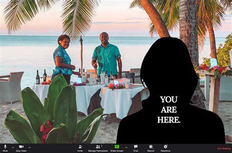 lets pretend zoom virtual backgrounds vomo island fiji