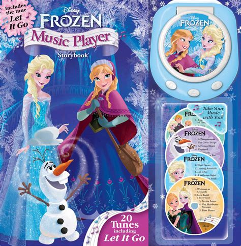 Disney Frozen Music Player Storybook Book By Disney