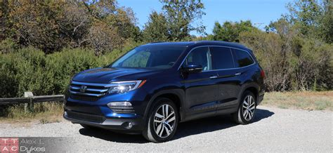 honda pilot 2016 honda pilot review the sensible 8 hauler