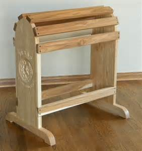 crafted furniture quality saddle rack by