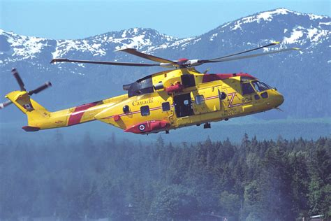 Search In Canada Ch 149 Cormorant Helicopter Aircraft Royal Canadian Air