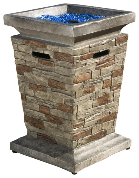 pit column coldwater outdoor propane column traditional