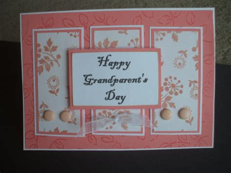 Handmade Greeting Cards For Parents Day - grandparents day handmade greeting card by kattfive on etsy