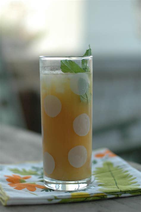 Teh Fruit Tea cup a cup a fruit tea from the herb garden