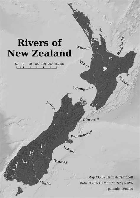 Rivers of New Zealand | Hamish Campbell | Polemic