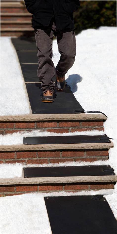 Heated Stair Mats Outdoor by Heattrak Hr10 30 Residential Snow Melting