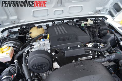 range rover diesel engine land rover defender 90 review performancedrive