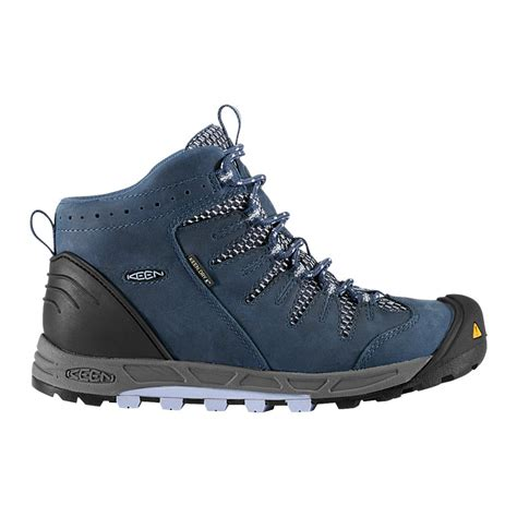 keen womens bryce mid wp ensign blue eventide lightweight