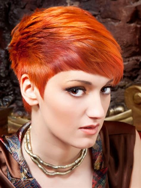 short hairstyles and colours 2013 2013 funky short red hairstyles new hairstyles haircuts