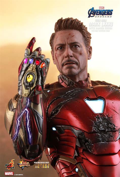 hot toys avengers endgame iron man mark lxxxv battle