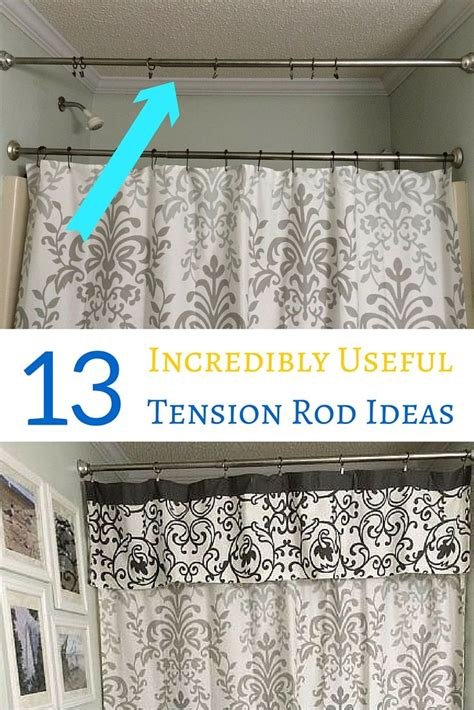 small tension rods for cabinets 13 incredibly useful tension rod ideas you haven t seen