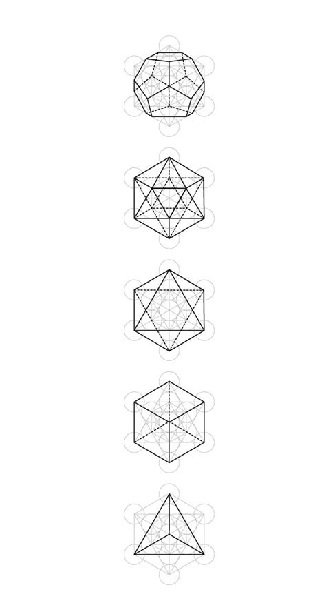 1000 Images About Poliedros On Platonic Solid - 1000 images about recortables poliedros packaging on