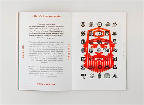 design quarterly magazine editorial design inspiration 99u quarterly mag no 6