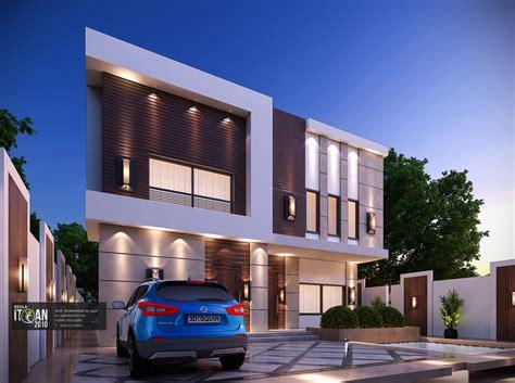 modern facade design  small villa modifying existing building itqan