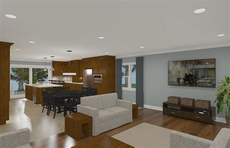 open concept floor plan open floor plan concept design build pros