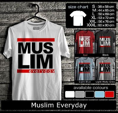 Kaos Islamic Artworks 8 kaos oceanseven proud to be moslem katalog oceanseven