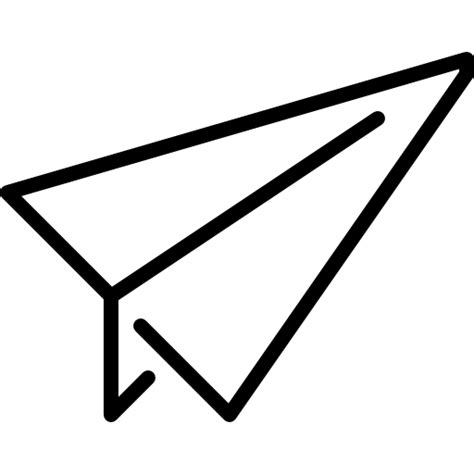 paper airplane free education icons