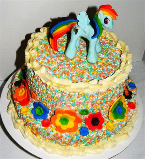 my little pony friendship is magic cake my little pony friendship is magic cakes rainbow dash my