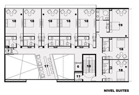 layout de un hotel galer 237 a de primer lugar concurso hotel centro 2010