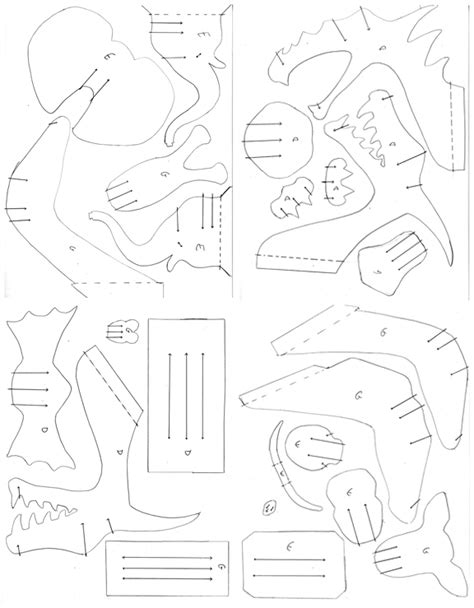 Cardboard Trophy Template cardboard animal heads images