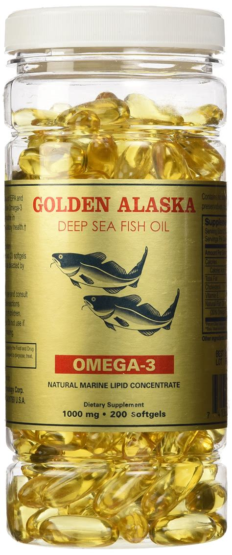 Alaska Omega 3 6 9 200 Butir golden alaska sea omega 3 6 9 fish