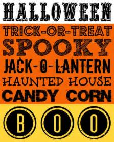 Halloween Decorations To Print 26 Boo Tiful Halloween Printable Decor Amp Activities Free