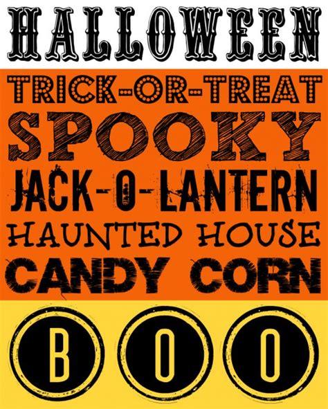 printable free halloween decorations 26 boo tiful halloween printable decor activities free