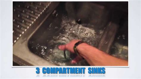 3 compartment set up 3 compartment dish washing set up youtube