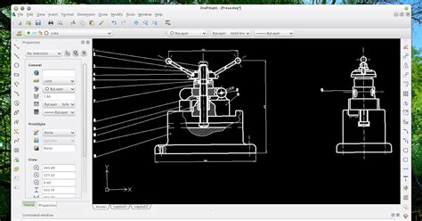 2d cad software reviews draftsight free autocad compatible 2d cad software for linux web upd8 ubuntu