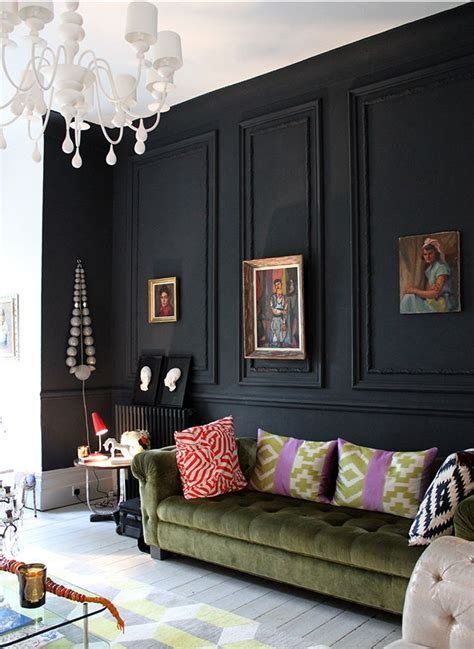 25 best ideas about black wall decor on black