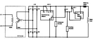 synchronous motor wiring diagram simple motor wiring diagram wiring diagrams