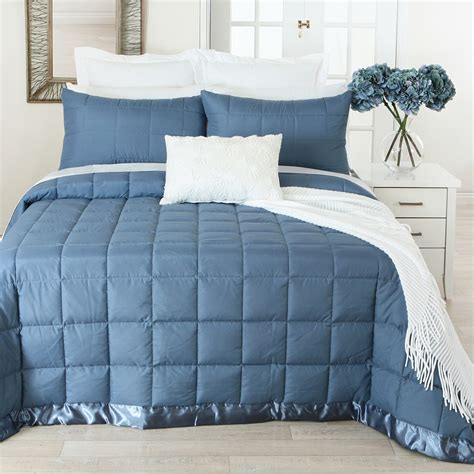 Quilted Bed Blankets New Aspire Quilted Blanket Ebay