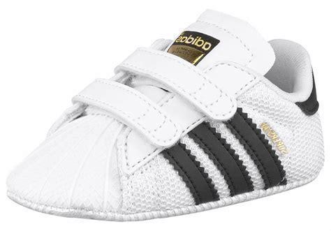 Adidas Baby Crib Shoes Adidas Superstar Crib Baby Sneaker M Sternen Schwarz
