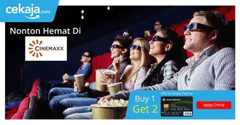 cinemaxx bri promo santai seru di cinemaxx dengan kartu kredit bukopin