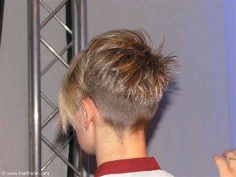 show backs of very short womens hairstyles back view of a very short haircut for girls and women