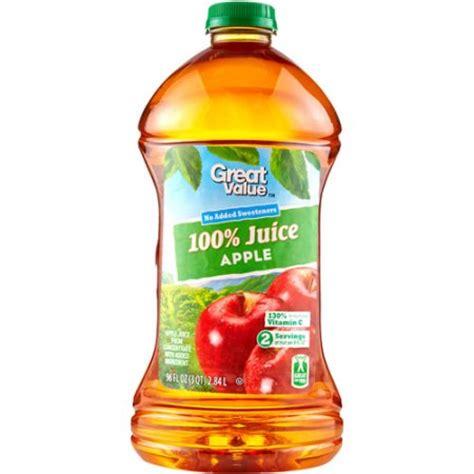 Walmart Apple Gift Card - great value 100 apple juice 96 oz