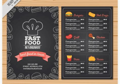 Speisekarte Design Vorlage Kostenlos 77 kostenlose speisekarten vorlagen zum selbst gestalten