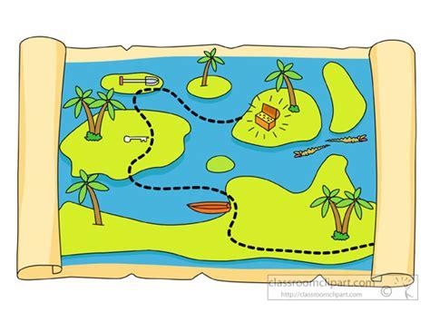 clipart of map treasure map clipart classroom clipart