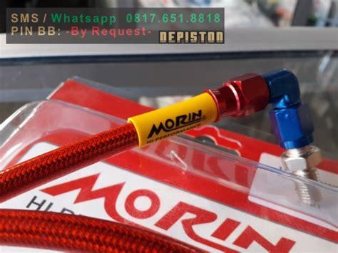 Selang Rem Depan Morin 90 Drajat brake hose selang rem 36 inch 90cm morin thailand depiston