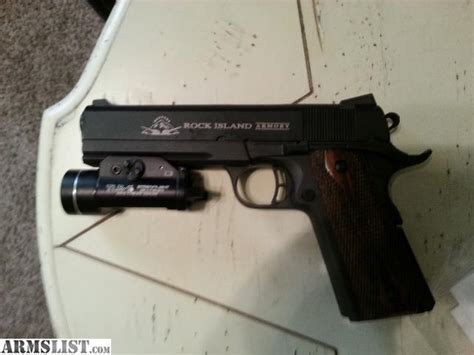 novak 1911 tactical light rail armslist for sale rock island armory tactical 2011 full
